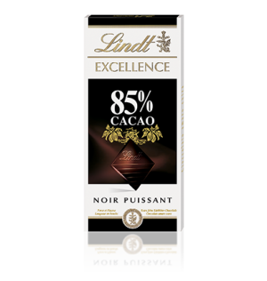 TAVOLETTA LINDT EXCELLENCE 85% CACAO 100 GR